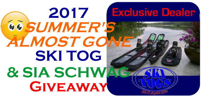 2017 SUMMER'S ALMOST GONE SKI TOG Giveaway!