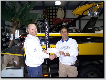 SIA donates to the MO Disabled Water Ski Assoc!